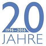 Logo 20 Jahre Jubiläum Zahnarztpraxis Tritten